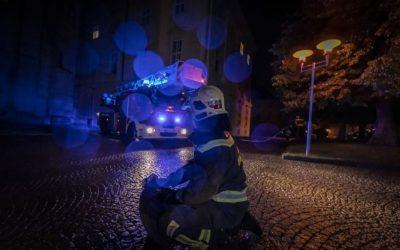 Aitrach: Dachstuhlbrand an der Burgruine Marstetten