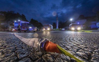 Aglasterhausen: Brandübung im Seniorenheim